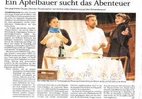 Presseartikel - Auftritt Scheersberg
